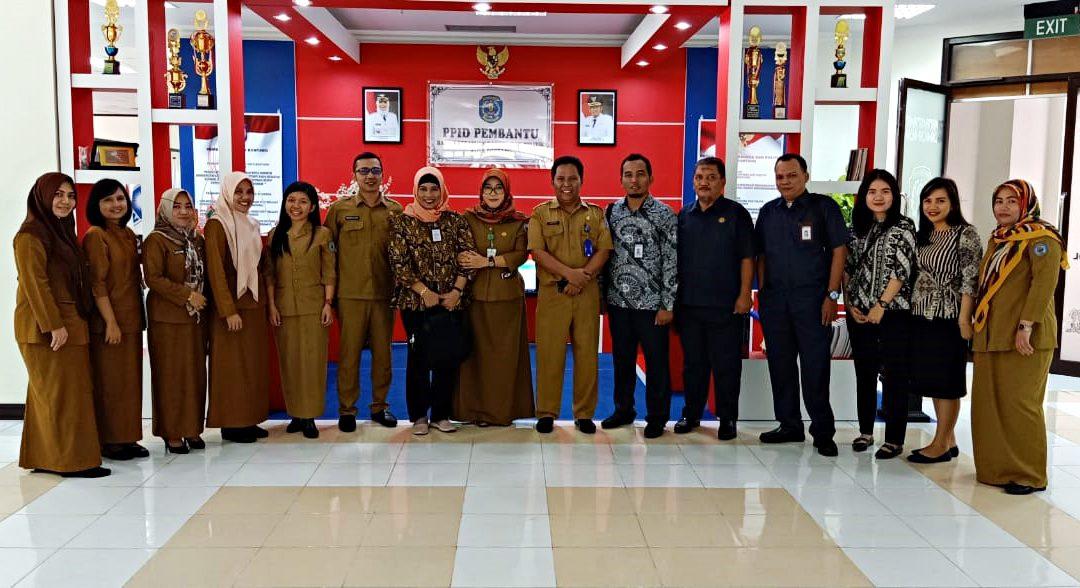 Penilaian Lomba PPID, Komisi Informasi Provinsi Kaltim Kunjungi Badan Kesbang Pol