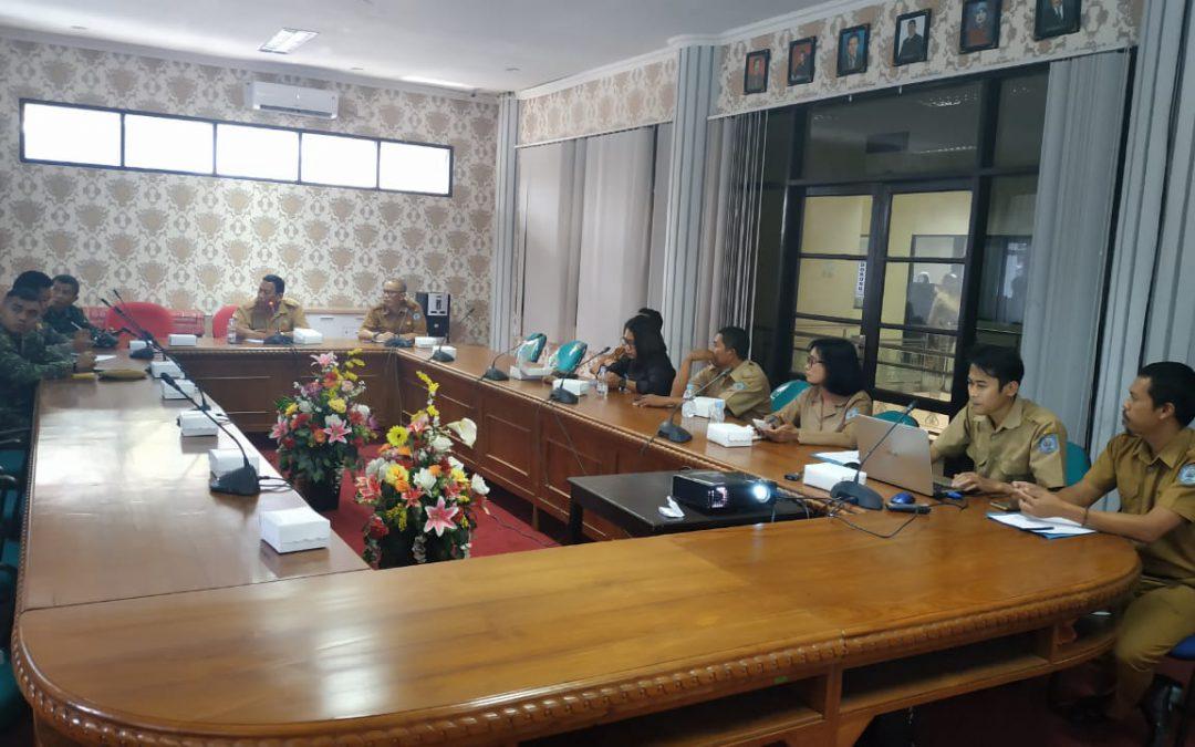 Jelang Hari Kesaktian Pancasila, Badan Kesbangpol Gelar Rapat Koordinasi