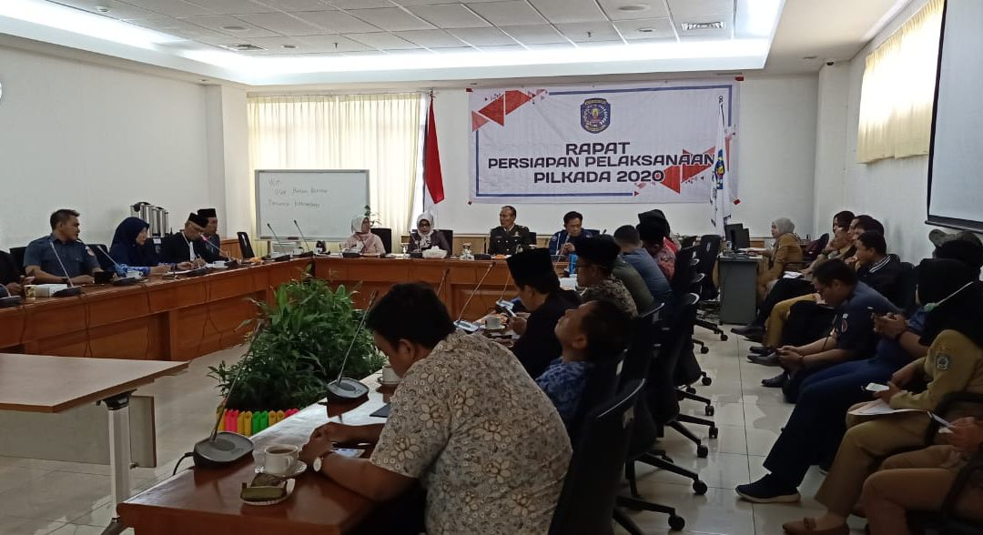 Persiapan Pemilukada 2020, Badan Kesbangpol Gelar Rapat Koordinasi