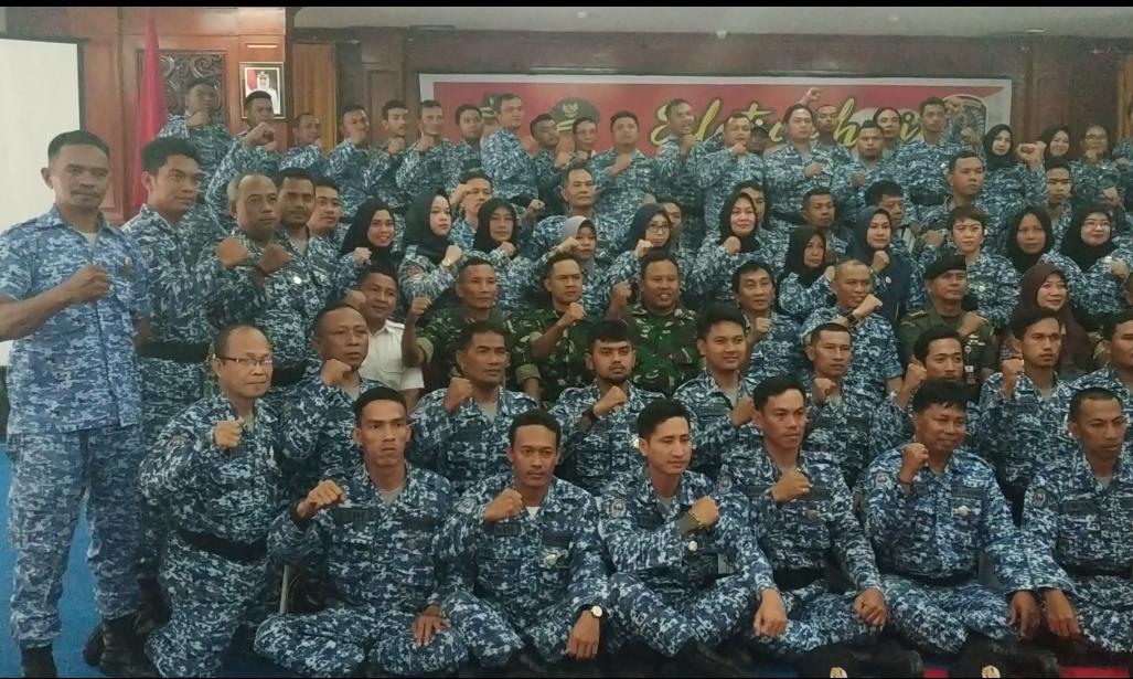 Bentuk Kader Bela Negara pada Ormas, Badan Kesbang Pol Gelar Pelatihan Bela Negara