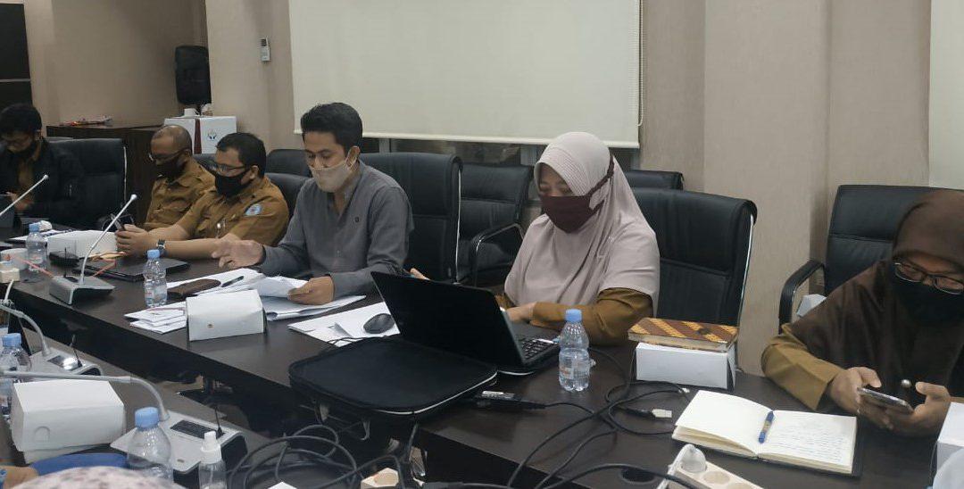 Pembahasan Dukungan Pelayanan Kesehatan Penyelenggara Pilkada, Bakesbangpol Gelar Rakor