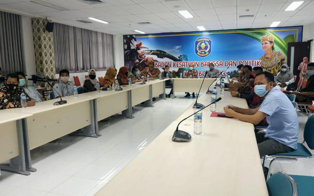 Bakesbangpol Provinsi Kaltim Gelar Sosialisasi Peraturan Ormas dan Tata Cara Pemberian Bantuan di Bontang